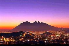 Cerro de La Silla, Monterrey, N.L.  México