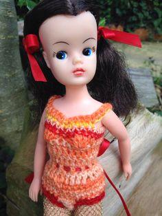 Crochet body suit