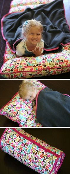DIY Nap Mat Sewing Tutorial. Amazing!