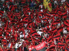 Torcida do Flamengo faz festa no Fla-Flu do século. O clássico completa 100 anos neste domingo Foto: Daniel Ramalho/Terra