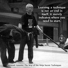 Martial arts quotes    bujinkan masaaki hatsumi