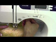 Free Motion quilting on a Brother machine