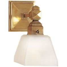 Visual Comfort Lighting E.F. Chapman Normandie 1 Light Bath Wall Light