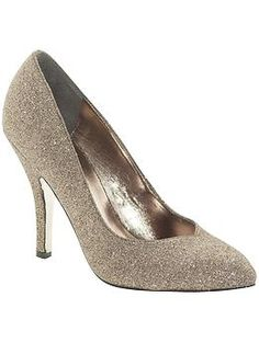 A shoe for a princess, a heel for a wedding day wearability! Sometimes subtle bling is just the thing!
