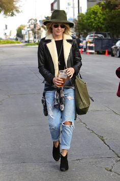 Julianne Hough looking great in street style