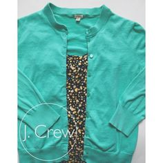 J. Crew Teal Cardigan✨ Women's size medium. Has minor piling to it but not noticeable. Worn less than 10 times. It's a 3/4 sleeve cardigan with teal buttons. SUPER soft and very comfy. Please make reasonable offers, I love to negotiate! J. Crew Sweaters Cardigans