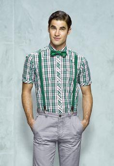 Blaine green plaid  Sweet Apple Teen Boys