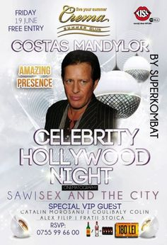 Crema Summer Club Hollywood Night, Summer Club, Free Entry, City, Celebrities, Celebs, Cities, Famous People