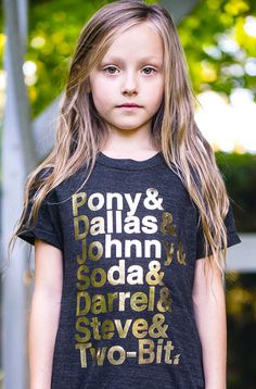 """The Outsiders Tee - Limited Edition """"Stay Gold"""" Collection 