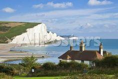 The Seven Sisters Cliffs by Lantern Press Landscapes Photographic Print - 61 x 41 cm