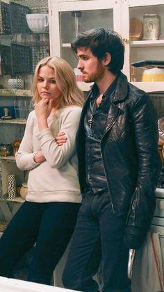 Killian & Emma! #CaptainSwan