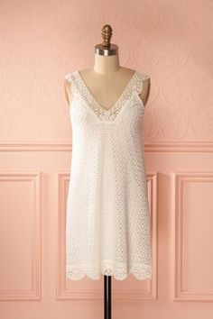 Sumathi #Boutique1861 / A white lace dress is a good way to stay elegant and feminine !  #bridesmaids