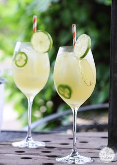 Sweet Heat - vodka and pineapple juice get a spicy twist with jalapeños and ginger in this delicious cocktail! @Michael Wurm, Jr. | inspiredbycharm.com