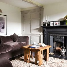 Small living rooms | Living room design ideas | PHOTO GALLERY | 25 Beautiful Homes | Housetohome.co.uk couch, rug, wall colors