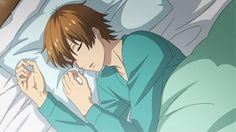 Yuta from STARMYU is October 5th, 2015 Man Crush Monday! Enjoy Yuta sleeping as he rest for his big audition!