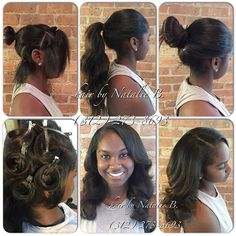 Exceptional PERFECT PONY SEW IN HAIR WEAVES By Natalie B. Weave HairstylesSummer  HairstylesProm ...