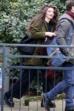 Snapshot: February 12 - Lorde - Spotted: GRAMMY winner Lorde takes a stroll through Paris on Feb. 12
