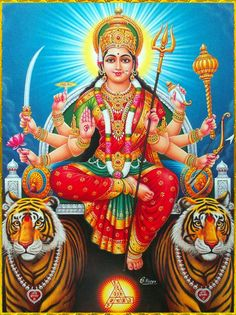 Maa Chandi is the total energy of the universe. By doing Chandi Homam once a year one can become free from evil eyes and get supremacy power to fulfill all desire. Maa Image, Maa Durga Image, Durga Images, Lakshmi Images, Krishna Images, Durga Ji, Durga Goddess, Shiva Art, Hindu Art