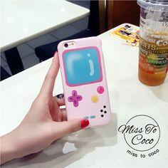 Typisch Pink Spielkonsole silikon Handyhülle für Iphone6/6s/6plus