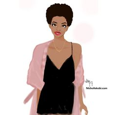 Friday night #nichollekobi #illustration