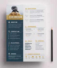 Nice Resume Template for designer Skils Resume Bundle -Resume Bundle - Resume Bundle Printable Invoice Template Mise En Page Portfolio, Portfolio Web, Portfolio Resume, Creative Cv Template, Job Resume Template, Resume Design Template, Cv Simple, Simple Resume, Modern Resume