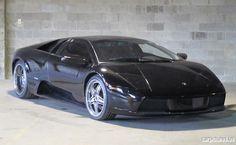2002 Black Lamborghini Murcielago