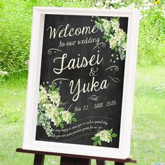 Welcome Boards, Wedding Entrance, Welcome To Our Wedding, Chalk Art, Wedding Invitation Cards, 50th Anniversary, Thank You Cards, Diy Wedding, Wedding Inspiration