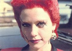 """Trash """"Linnea Quigley"""" The Return Of The Living Dead Classic Horror Movies, Horror Films, Classic Films, Dan O Bannon, Evil Dead, Goth Look, Zombie Girl, Scary Movies, Halloween Movies"""