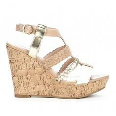Serina cut out wedge