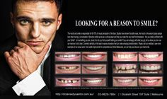 If you're looking for the best dentist Melbourne CBD? We offer General, Restorative and Cosmetic Dentistry Missing Teeth, Melbourne Cbd, Best Dentist, Something About You, Reasons To Smile, Cosmetic Dentistry, Your Smile, Clinic, Tired