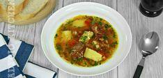 Ciorba de legume reteta simpla si rapida - Adygio Kitchen Romanian Food, Thai Red Curry, Ethnic Recipes, Supe, Youtube, Youtubers, Youtube Movies