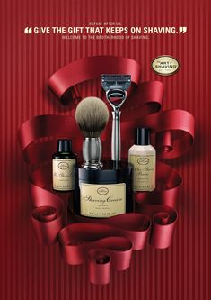 The Art of Shaving: Holiday Campaign