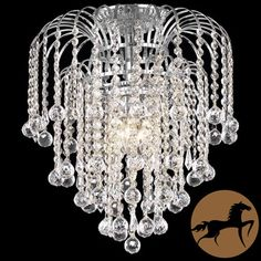 Christopher Knight Home Crystal 4-light Chrome Chandelier | Overstock.com Shopping - The Best Deals on Chandeliers & Pendants
