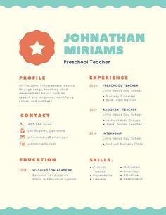 White Minimalist Academic Resume  Life