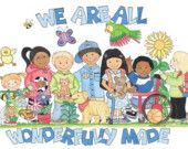 We Are All Wonderfully Made Poster
