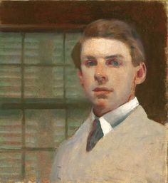Charles-Hopkinson-Self-Portrait-1910