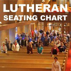 Lutheran seating chart