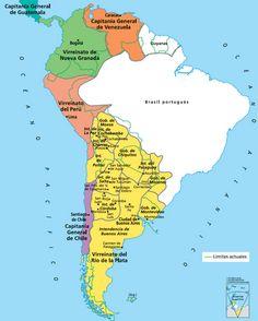 El Arcón de Historia: Creación del Virreinato del Río de la Plata (1776)