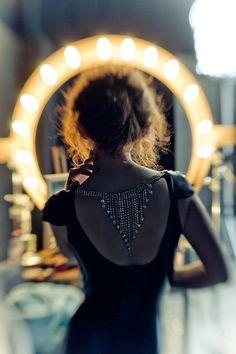 love backwards necklace details