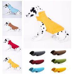 NEW Pet Dog Puppy Jacket Coat Reflective Vest Fleece Soft Winter Warm Cl