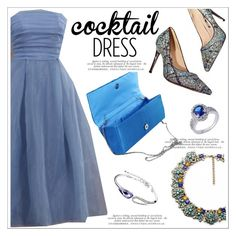 """Cocktail Dress"" by teoecar ❤ liked on Polyvore featuring modern"