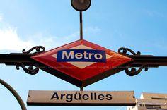Madrid Metro /Metro de Madrid (Argüelles)