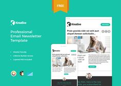 17 best editable mailchimp template newsletter images on pinterest
