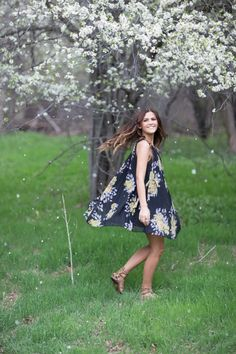 Wild One Forever: Free People Floral Dress Photos: Haizel Creations
