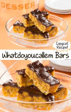 You're going to love this copycat version of a popular candy bar recipe - featuring lots of crispy, peanut buttery goodness and ooey-gooey chocolate!