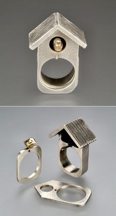 TheCarrotbox.com modern jewellery blog : obsessed with rings // feed your fingers!: Amy Johnston / Vernissage