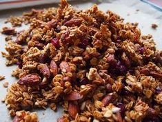 Sharing the recipe for my homemade granola here for the sweet IG friend who asked… I started with Barbara's recipe for Brown Sugar Gran. Breakfast Recipes, Snack Recipes, Healthy Recipes, Snacks, Healthy Food, Muesli, Granola, Other Recipes, Grains