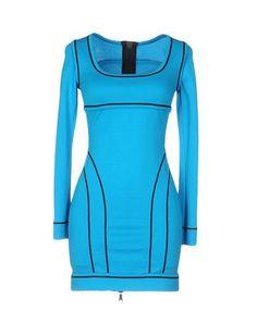 DSQUARED2 Short dress. #dsquared2 #cloth #dress #top #skirt #pant #coat #jacket #jecket #beachwear #