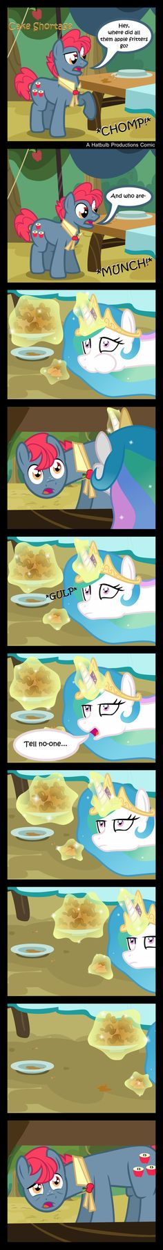 COMIC: Cake Shortage by *HatBulbProductions on deviantART