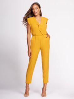 b1e863693b Wrap Jumpsuit - Gabrielle Union Collection